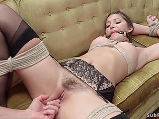 Husband puts his large gazoo wife in slavery