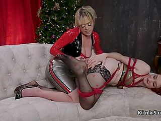 Massive ass dominatrix anal bonks sweetheart