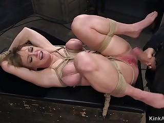 Huge tits Milf anal trainee fucking