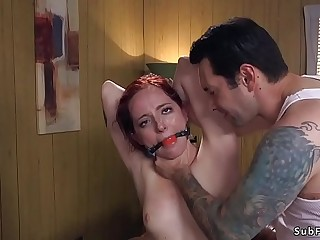 Rough dude anal bangs pro slave