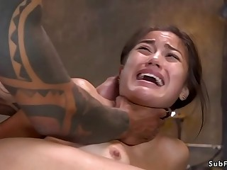 Black master anal pounds hot ass slave