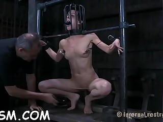 Inflicting pleasure on babe'_s cumhole