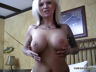I will talk dirty to you while you eat your own cum CEI