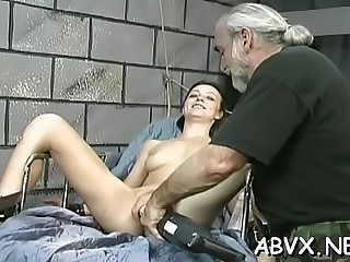 Seductive cutie enjoys prick
