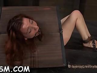 Fake penis loving voluptuous redhead hottie showcases her skills