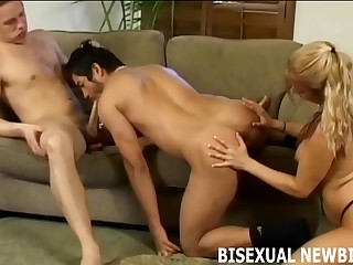 Your new wife wants to have a bisexual threesome
