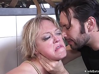 Grown up dude fucks former Milf sitter
